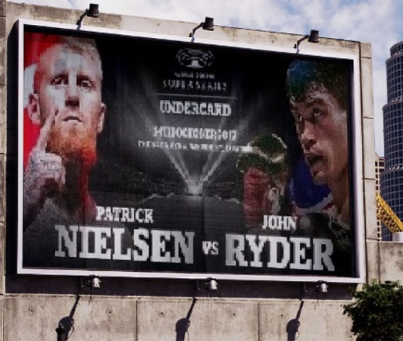 Nielsen and Ryder to clash on Groves-Cox undercard