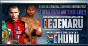 SLUGFEST AT THE SUN PRE-FIGHT PREVIEW CONSTANTIN BEJENARU VS THABISO MCHUNU