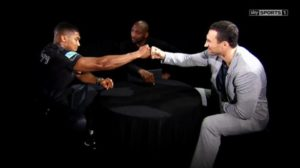 Joshua/Klitschko: Mind games or Respect?
