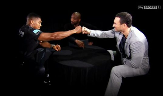 Joshua/Klitschko: Mind games or Respect?