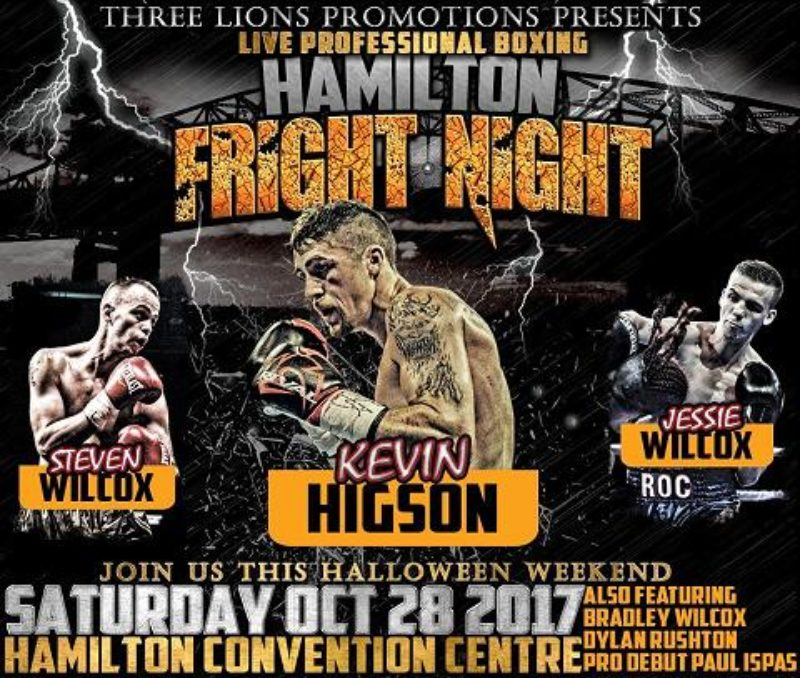 Quick Results for the Hamilton Fright Night card in Ontario, Canada