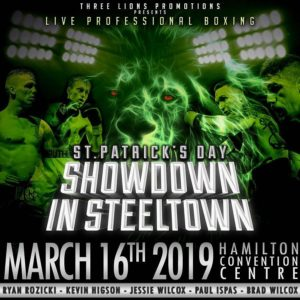 Three Lions Promotions: St. Patrick's Day Showdown in Steeltown – Photo Gallery