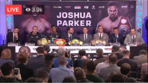 Anthony Joshua exclusive: It's showtime and the talking is done, so now we'll find out if Joseph Parker is another Wladimir Klitschko or not – Part 3