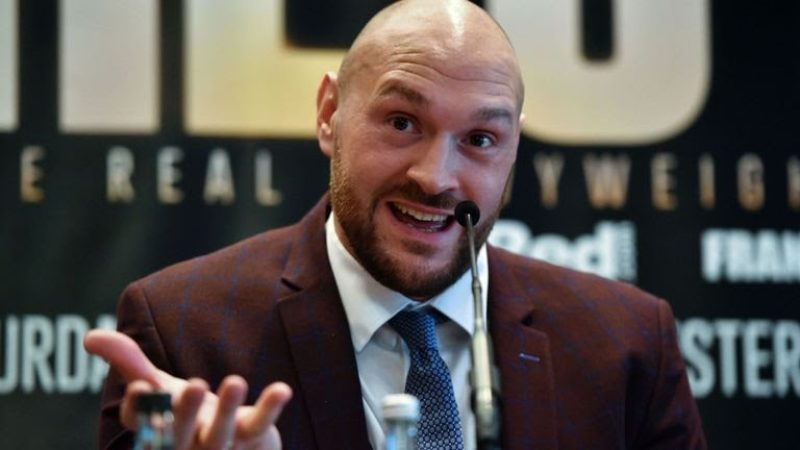 Fury reunites with Warren and schedules comeback for June 9