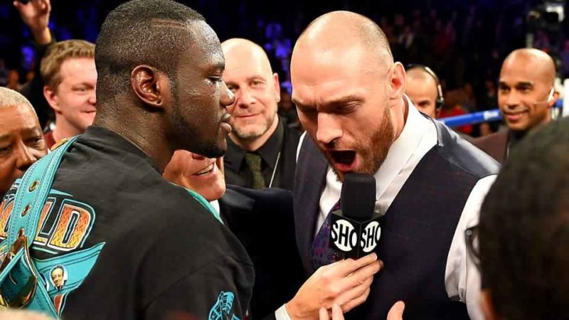 Fury-Wilder but what's Big Josh got to do with it?