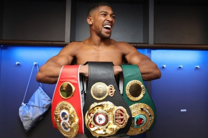 Anthony Joshua exclusive: More sleep and a new training routine has made me sharper for Saturday's fight – Part 1