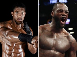 Anthony Joshua would accept a pay cut to fight Wilder in Britain