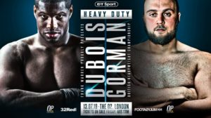 O2 Arena stage another British Heavyweight Showdown