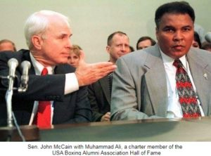 Sen. John McCain to be honored at 3rd annual USA Boxing Alumni Association Hall of Fame reception