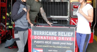 WORLD CHAMPIONS AMANDA AND CINDY SERRANO JOIN DRIVE TO HELP PUERTO RICO