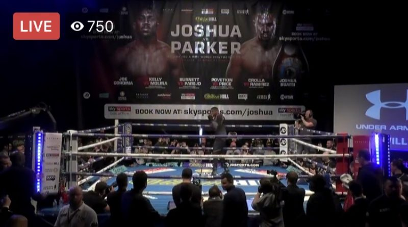Anthony Joshua: It's going to be so tough for Joseph Parker… 78,000 fans will be baying for me to flatten him – 4th and final edition