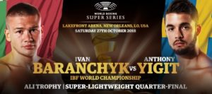 Yigit warns Baranchyk to expect the unexpected