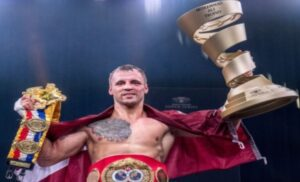 Briedis wins the Muhammad Ali Trophy After Enthralling Final