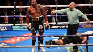 Whyte knocks out Browne in six