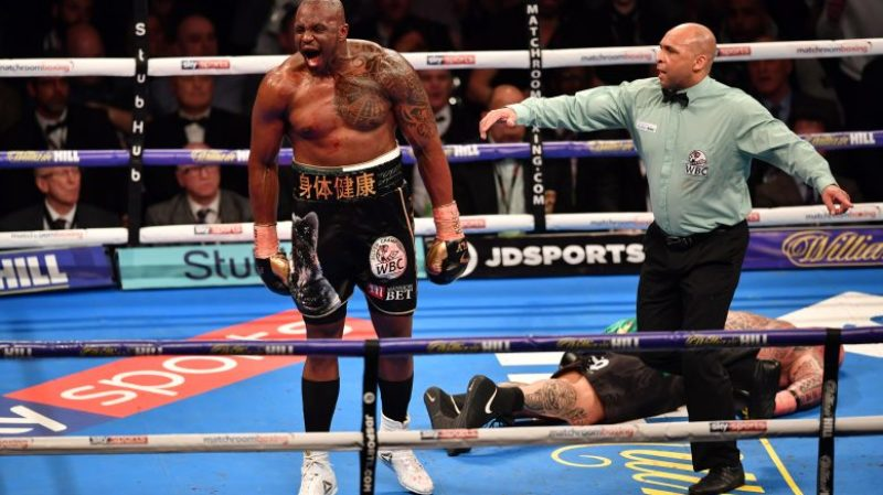 Dillian Whyte Disgusted with WBC Decision