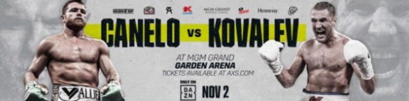 #CaneloKovalev pre-fight shows from Las Vegas