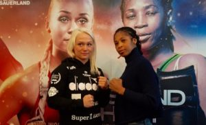 Alicia Ashley arrives in Denmark, ready for WBC World title showdown with Thorslund