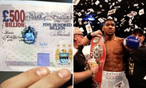 Anthony Joshua – The Manchester City of Boxing