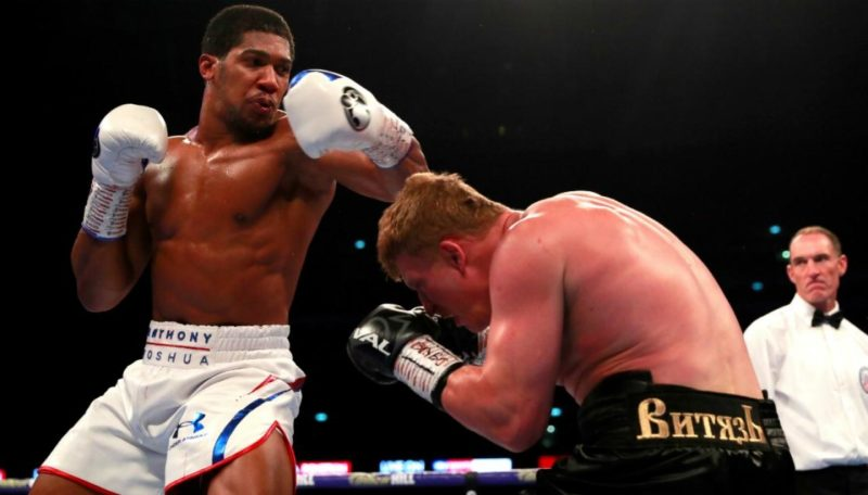 AJ retains his titles after stopping Povetkin in seven.