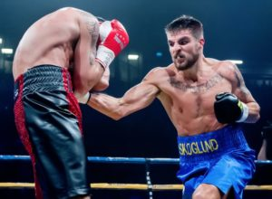 Skoglund targets division's top names as he moves down to super middleweight