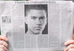 Flores Jr dominates Ruiz, Collard upsets Kaminsky in Vegas.