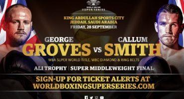 Groves vs Smith Ali Trophy Final to take place September 28 in Jeddah, Saudi Arabia