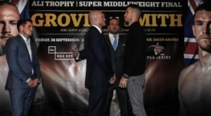 Groves and Smith are both in a good place in Jeddah