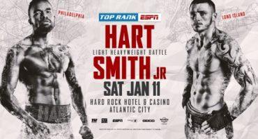 HART & SMITH JR. SET TO CLASH ON JAN 11 AT HARD ROCK ATLANTIC CITY ON ESPN