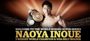 Inoue's trainer-father pushed by Team Rodriguez member at Media Workout in Glasgow!
