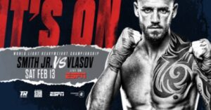 """STRAP UP YOUR BOOTS: """"THE COMMON MAN"""" JOE SMITH JR.  FIGHTS FOR WORLD TITLE ON FEBRUARY 13TH  AGAINST RUSSIAN MAXIM VLASOV"""