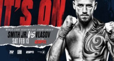 "STRAP UP YOUR BOOTS: ""THE COMMON MAN"" JOE SMITH JR.  FIGHTS FOR WORLD TITLE ON FEBRUARY 13TH  AGAINST RUSSIAN MAXIM VLASOV"
