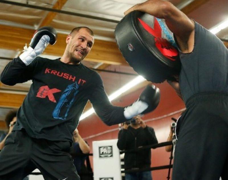 "Sergey ""Krusher"" Kovalev Media Workout Recap"
