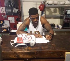 Warriors Signs Undefeated Middleweight Kalvin Henderson to a Promotional Contract