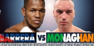Sullivan Barrera vs. Seanie Monaghan Aug. 18 on Facebook Watch