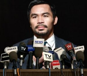 "Pacquiao Stops Matthysse in Seven-""What's Next for the Congressman?"""