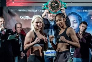 Ashley and Thorslund  make weight ahead of WBC World title contest