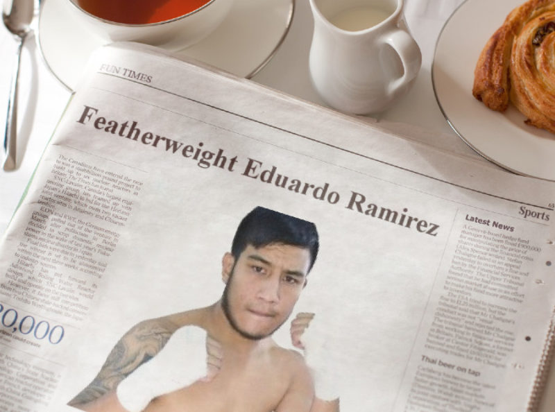 Sampson Boxing Signs Undefeated Featherweight Eduardo Ramirez to a Promotional Contract