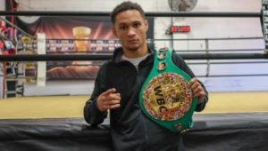 "Prograis: ""I want to be the legitimate best!"""