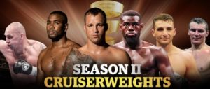 The eight great Cruiserweight contenders and match-ups for Season II's Muhammad Ali Trophy