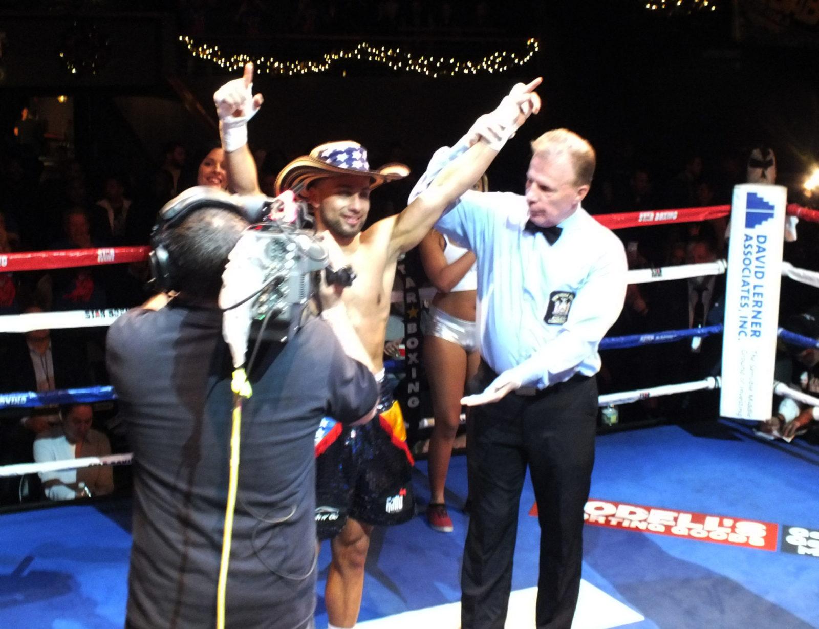 "16f672f397ff Bellport s Alex ""El Toro"" Vargas Dream Leads to ""Rockin Fight s Third Visit  to ..."