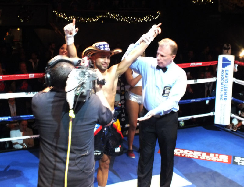 "Bellport's Alex ""El Toro"" Vargas Dream Leads to ""Rockin Fight's Third Visit to the Paramount!"