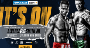 Eleider Alvarez & Joe Smith Jr. Face Off in Title Eliminator on 8/22 LIVE on ESPN