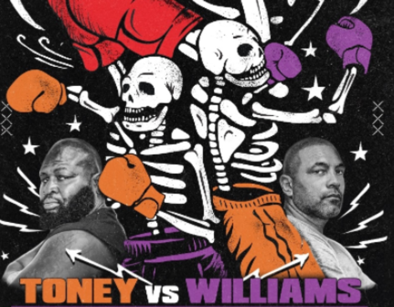 James Toney returns to face Jeremy Williams October 29th in Mexico