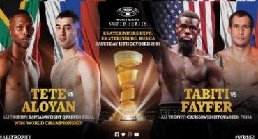 Tete-Aloyan & Fayfer-Tabiti ready for Quarter-Finals in Ekaterinburg, Russia on October 13