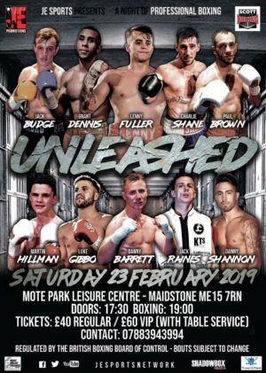 JE Promotions reveal 'Unleashed' card in Maidstone