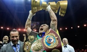 "Usyk: ""Ali Trophy Heavyweight Tournament would be really cool!"""