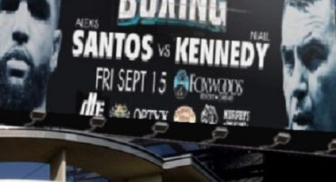 Broadway Boxing results from Foxwoods