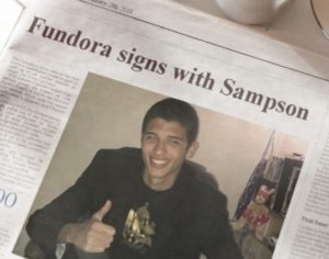Sampson Boxing Signs Massive Super Welterweight Sebastian 'The Towering Inferno' Fundora to a Promotional Contract