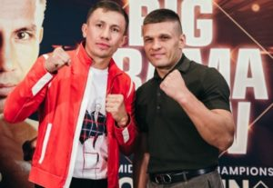 GOLOVKIN HAS THE FEAR FACTOR AGAINST DEREVYANCHENKO