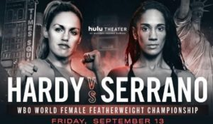 "HEATHER HARDY AND AMANDA SERRANO VIE TO BECOME ""QUEEN OF BROOKLYN"" FRIDAY, SEPTEMBER 13, AT HULU THEATER AT MADISON SQUARE GARDEN"